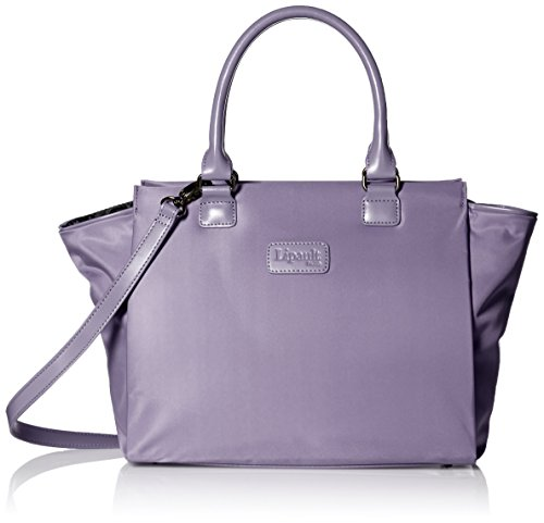 lipault-paris-lady-plume-medium-satchel-bag-carry-on-luggage-dark-lavender