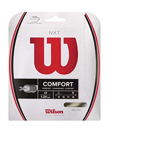 Wilson NXT 40-Feet String, Natural, 17 ()