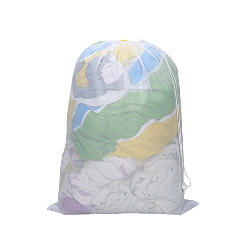 Cotton Laundry Bag With Zipper - 8