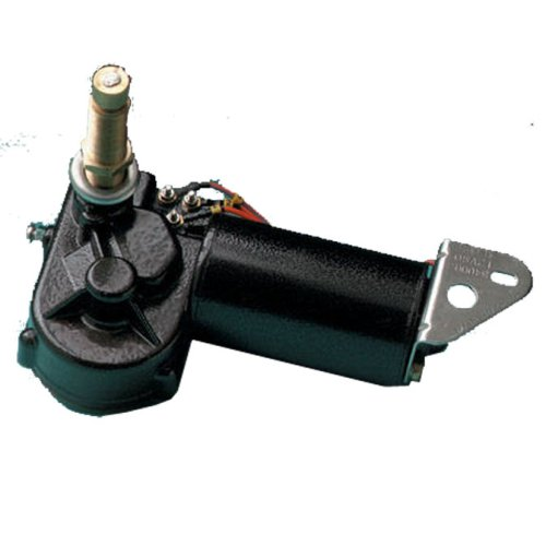 Image of AFI 34015 MRV Heavy Duty 2-Speed Marine Wiper Motor (12-Volt, 3.5-Inch Shaft, 110-Degree Sweep) Boating