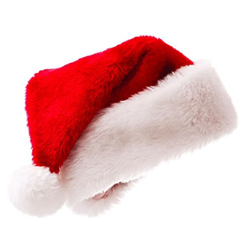 Sundautumn Chapeau de Noël Bonnet Père Noël pour Adulte Enfant Pas Cher   Amazon.fr  Cuisine   Maison 055da31f45f