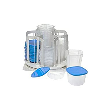 Spin 'N' Store Revolving Food Storage System 49 Pieces