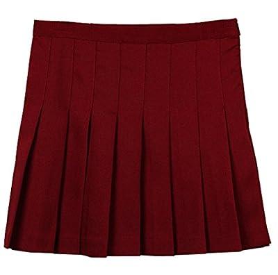 Women High Waist Pleated Party Evening Tennis skater Skirts Mini Dress Colours