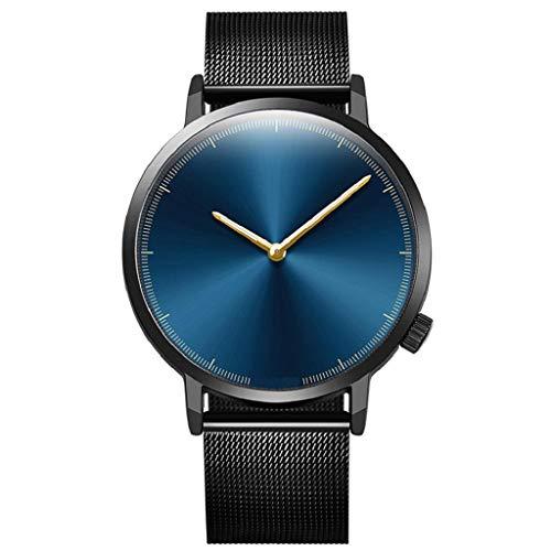 Rape Flower Womens Fashion Classic Gold Quartz Stainless Steel Wrist Watch (D) from Rape flower_Jewelry