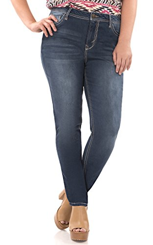WallFlower Plus Size Irresistible Jegging in Camila Size:18