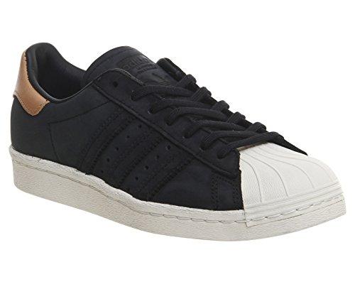 adidas Superstar Hombre Black Zapatillas 80's Primeknit Blanco ggPprwq
