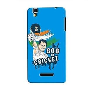 Cover It Up - Sachin GOC print YU Yureka Hard Case