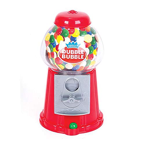 (Kicko 8.5 Inch Gumball Machine - Classic Candy Dispenser - Perfect for Birthdays, Kiddie Parties, Christmas, Novelties, Kitchen Buffet, Gift, Party Favor and Supplies)