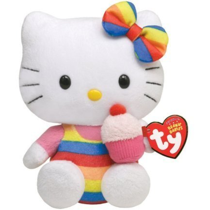 Hello Kitty Cupcake Ty Beanie Baby Plush 40893 by Ty