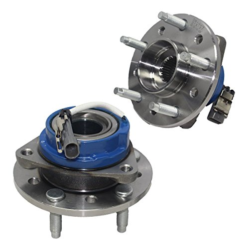 Detroit Axle Wheel Bearing and Hub Assembly Pair for [1997-2003 Chevy Malibu with ABS Brakes] - 1999-2004 Olds Alero - [1997-1999 Olds Cutlass excluding Supreme Models] - 1999-2005 Pontiac Grand Am (Front Brake Hub Assembly)