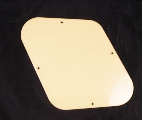 Les Paul Guitar Cavity Cover Backplate ABS Cream (Les Paul Backplate)