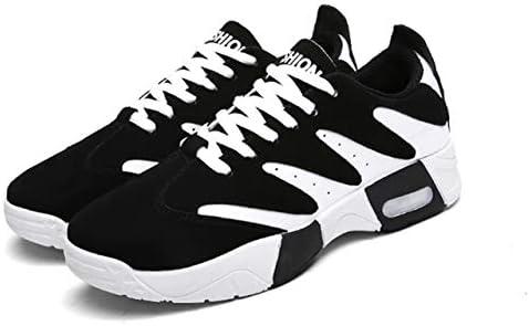ハイカット 白黒 滑らない 靴 ジム シューズ メンズ スニーカー 3色展開(黒、赤、青)