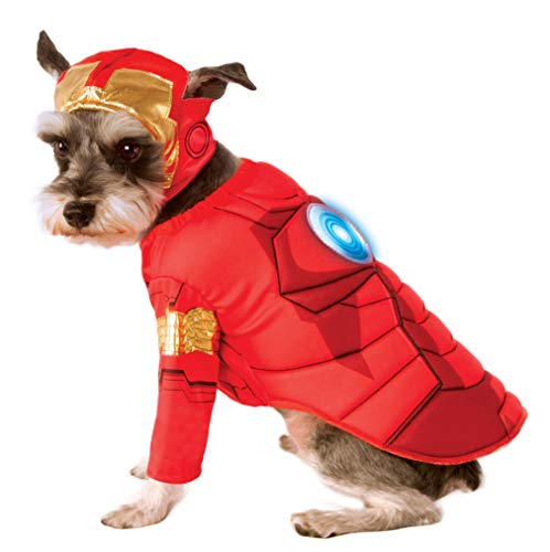 Rubie's Avengers Assemble Deluxe Iron Man Pet Costume, X-Large