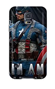 New Style Ultra Slim Fit Hard Case Cover Specially Made For Galaxy S5- 2011 Captain America 9937031K70694508