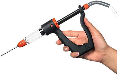 Pistola inyectora de carne | jeringa inyectora de sabor marinado ...