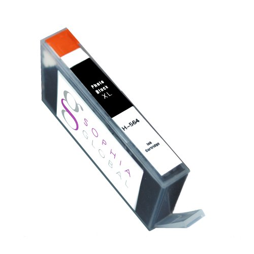 Sophia Global Compatible Ink Cartridge Replacement for HP 564XL (1 Photo Black)