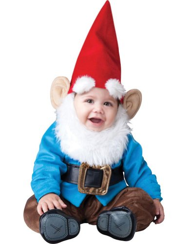 Lil Garden Gnome Baby Costume 6-12 Months