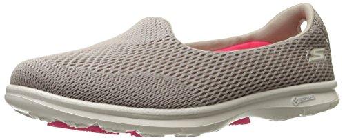 Skechers Leistung Go Schritt Shift-Walking Schuh Taupe