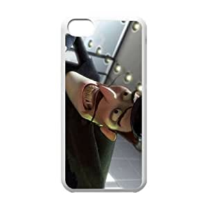 Meet the Robinsons Character Bowler Hat Guy iPhone 5c Cell Phone Case White SA9728071