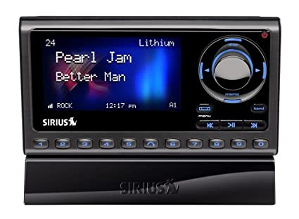 amazon com sirius sportster 5 satellite radio receiver with vehicle rh amazon com Sirius Car Radio sirius model sp5 owners manual