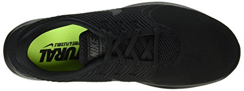 Nike Wmns Free Rn Cmtr, Zapatillas de Running Para Mujer Negro (Black / Black-Black)