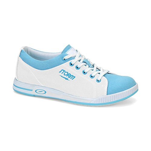 Storm Meadow Bowling Shoes, White/Blue, 11