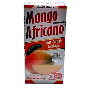 Mango Africano MASTER MAGIC African Mango + Garcinia Cambogia Reforced 30 Capsules, Weight Loss
