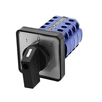 660V 20A 3 Painel Posição de montagem do detector Select Rotary Cam mudança
