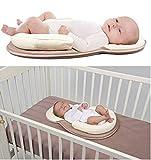 Premium Newborn Lounger Anti-Rollover Baby