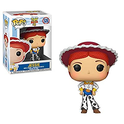 Funko Disney: POP! Toy Story 4 Collectors Set 1 - Woody, Buzz, Alien, Jessie: Toys & Games