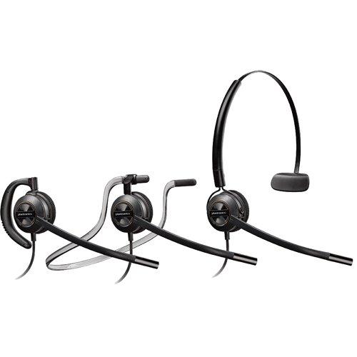 NEC Compatible Plantronics EncorePro 540 HW540 VoIP Direct Connect Headset Bundle - NEC Elite | Dterm Series i | Dterm IP | Dterm Elite | Series E | DSX | Aspire | NEC i-Series | Dterm Series III | Univerge | DT300 | DT700 by Plantronics