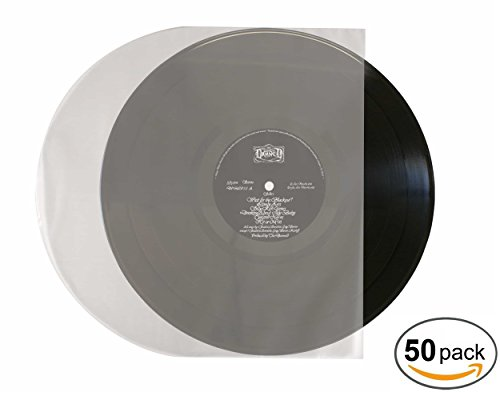 Vinyl Record Sleeves Antistatic – 12 Inch Protective Vinyl