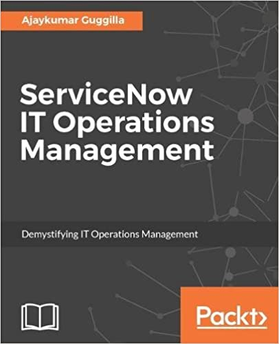 ServiceNow IT Operations Management