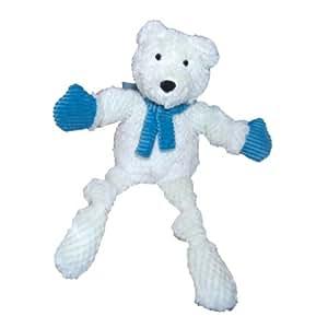 Hugglehounds Holiday Knotties Polar Bear