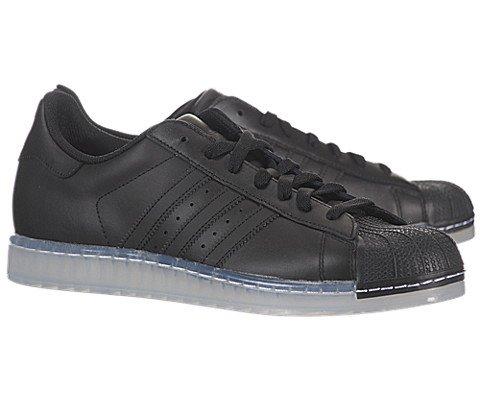 adidas Men's The Superstar CLR Sneaker 9 Black