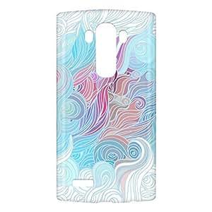 Loud Universe LG G4 Hair Print 3D Wrap Around Case - Multi Color