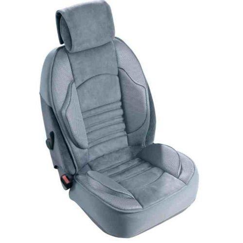 2001//06-2013//01 grigio 1 pezzo Coprisedile anteriore Grand Comfort per X-Trail