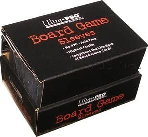 Ultra Pro 50 European mini jeu de plateau Manches De Taille Pour 44 mm x 68 mm 82661