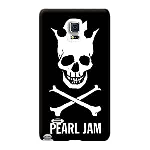 Excellent Hard Phone Covers For Samsung Galaxy Note 4 (poV22023mOpk) Allow Personal Design Trendy Pearl Jam Pictures