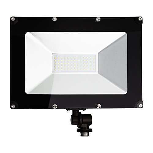 ALOTOA 50W LED Flood Light, Waterproof IP65 for Outdoor [5000lm] 250W Halogen Equivalent Ultra-Slim Security Lights Fixture with 1/2