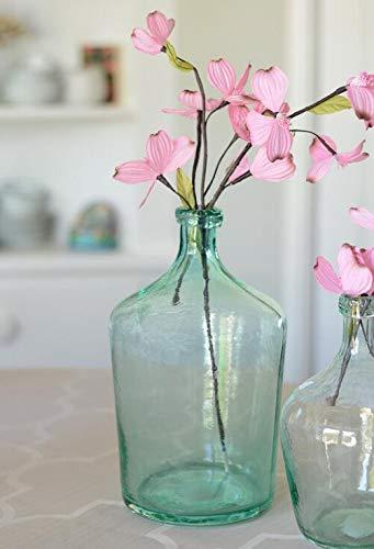 Laguna Vase - Richland Aqua Glass Laguna Vase 12