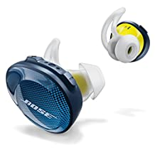Bose 774373-0020 SoundSport Free Truly Wireless Sport Headphones, Midnight Blue/Citron