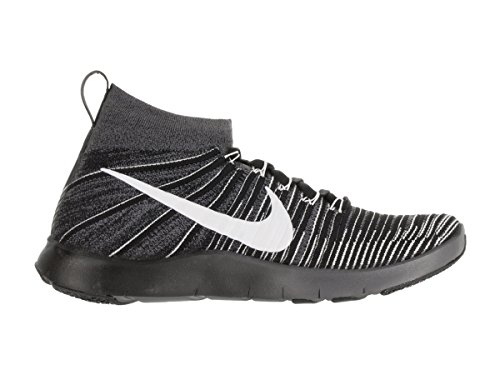 Nike Free Train Force Flyknit, Zapatillas de Gimnasia para Hombre Gris (Dark Grey / White-Black-Volt)