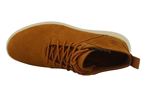 Timberland - Flyroam Leather Trainer Rust - Sneakers Hombre - 41.5 EU