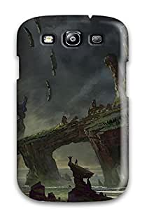 AnthonyJNixon Case Cover For Galaxy S3 - Retailer Packaging Titan Emerging From The Rock Protective Case