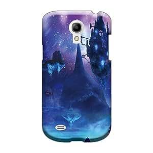Best Hard Phone Cases For Samsung Galaxy S4 Mini (KMt29057hUGD) Custom Vivid Xenoblade Chronicles - Floating Rocks At Night Skin