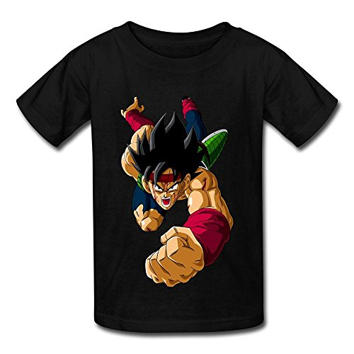 DASY Unisex O Neck Dragon Ball Z Resurrection Of F Shirt Large Black 6-16 Years Old