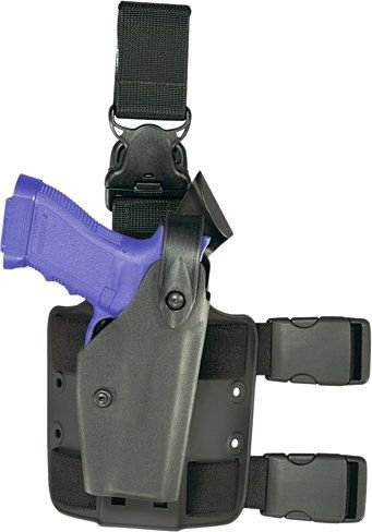 Safariland 6005 SLS Tactical Holster with Quick Release Glock 17 22 Holster, STX Flat Dark Earth, Left Hand 6005 Sls Tactical Holster