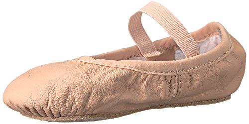 Bloch Dance Girls' Belle Ballet Shoe, Pink, 13.5 B US Little Kid (Belle Leather)