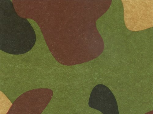 Camouflage Camo Hunting Tissue Paper 20 Inch x 30 Inch - 24 X-Large Sheets by Premium Quality Gift Wrap Paper